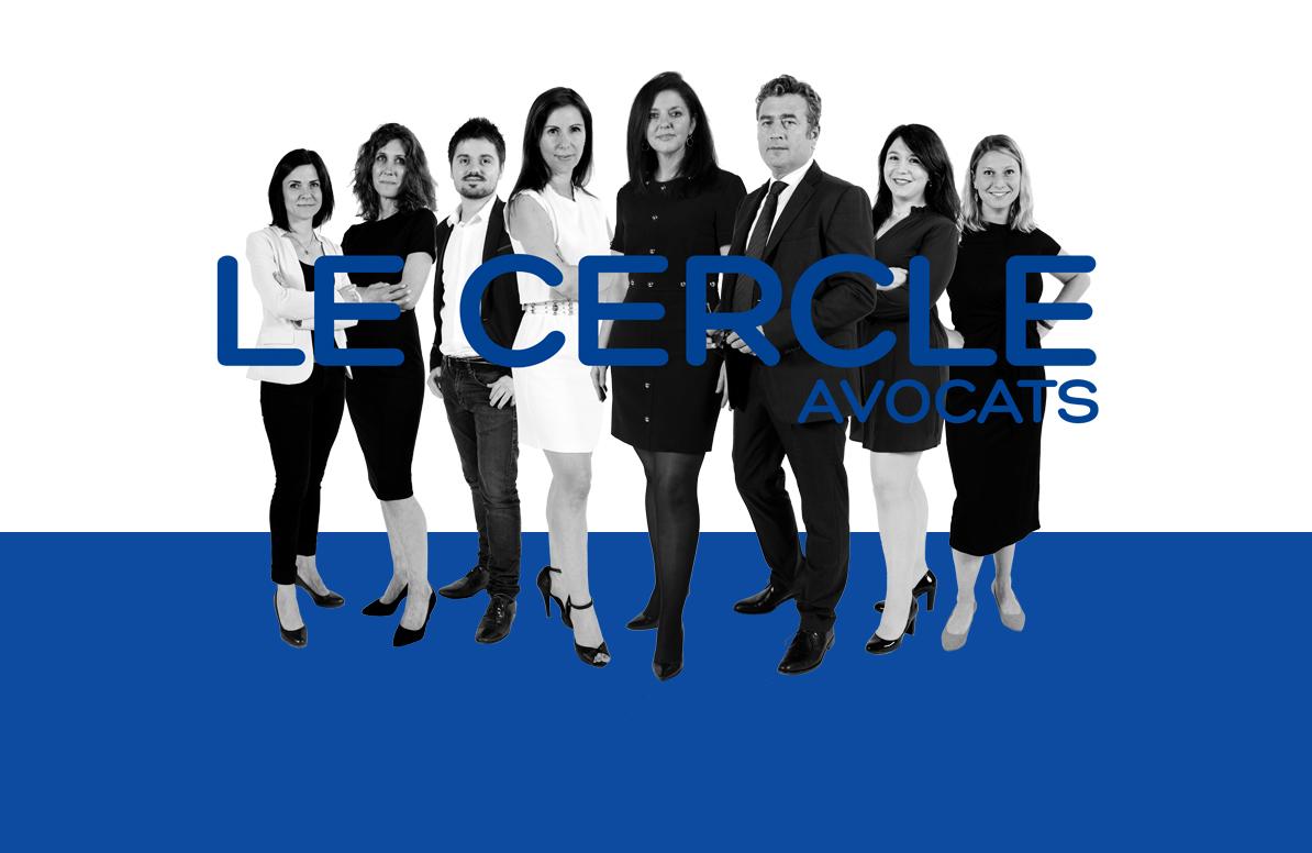 L'ensemble de l'équipe du cabinet Le Cercles avocats