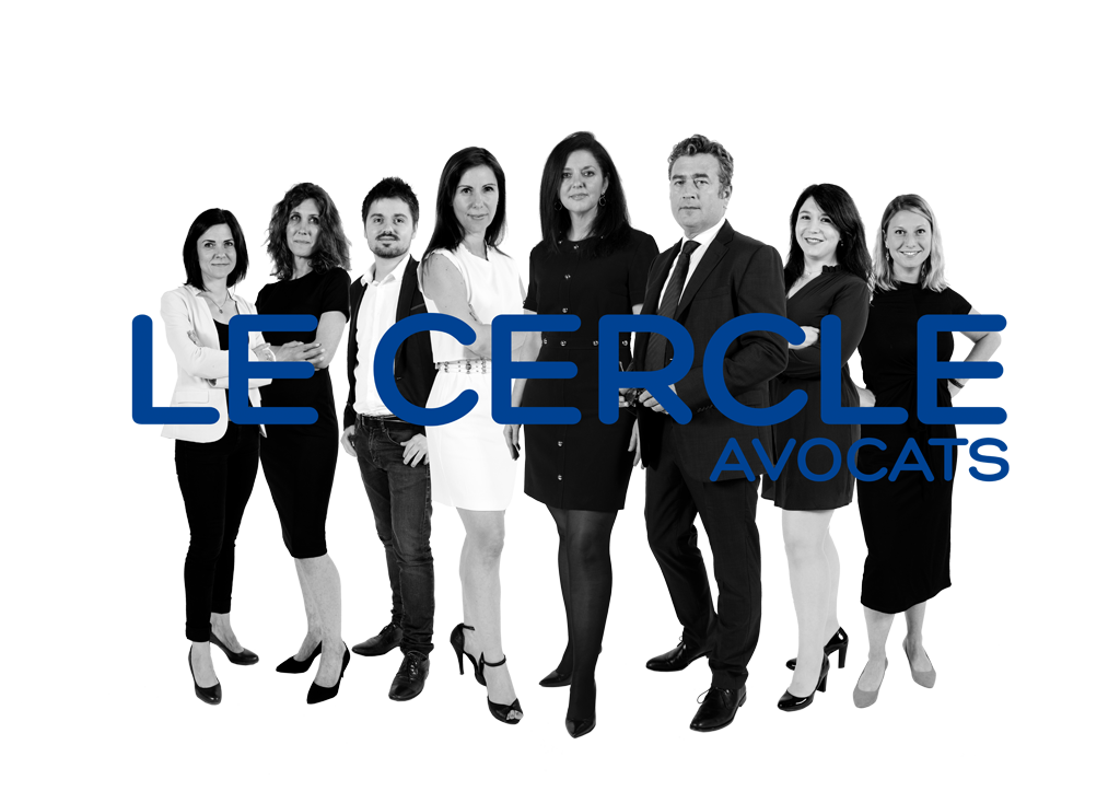 Photo de groupe des associés et salariés du Le cercle avocats